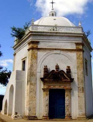 1. Vista frontal da capela de N. S. do Patrocínio<br />Foto do autor