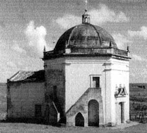 7. Vista lateral esquerda da capela de N. S. do Patrocínio, 1960<br />Foto Marcel Gautherot  [Arquivo do IPHAN]