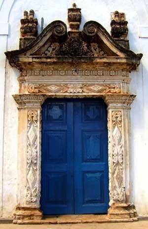 8. Portada da capela de N. S. do Patrocínio<br />Foto do autor
