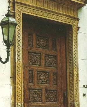 13. Portada do Museu de Arte da Bahia, oriunda de casa seiscentista [VALLADARES et al. Op. cit.]