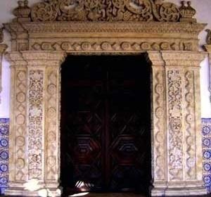 14. Portada principal da igreja franciscana de João Pessoa<br />Foto do autor
