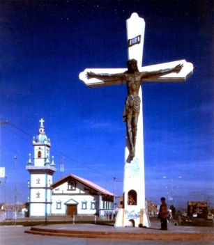 """Praça e Santuário """"La Cruz"""""""