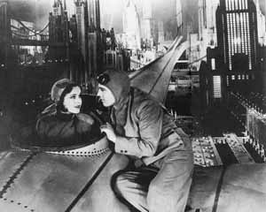 New York no futuro. Cena do filme Just Imagine USA, Fox, 1930 [NEWMANN, Dietrich (editor). Film architecture: from Metropolis to Blade Runner. New York, ]