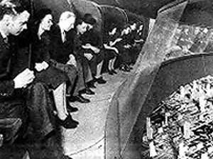 Interior do pavilhão da General Motors  Futurama. Word's Fair de 1939 [PICCHI, Francesca. Esposizione Universale di New York. In: Domus, Milano, dez. 1999.]
