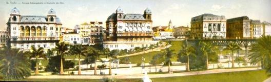 Vale do Anhangabaú, São Paulo [GERODETTE, João E.; CORNEJO, Carlos. Op. cit]