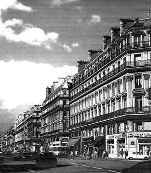 Av. de L'Opera, Paris [CARS, Jean; PINON, Pierre. Paris-Haussmann. Paris, Picard, 1991]