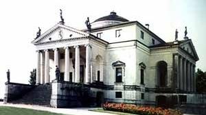 """Villa La Rotonda, Andrea Palladio. O """"espaço da arquitetura"""", tradicionalmente ligado à arte em situações monumentais<br />Foto Abilio Guerra"""