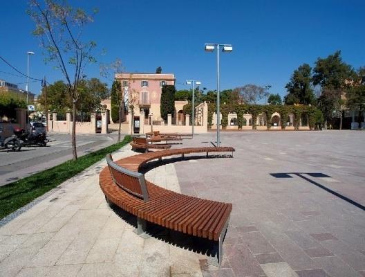 Parque da Torre Lluc, Gavà, Catalunha, Espanha <br />Foto divulgação  [Regesa Aparcaments i Serveis / www.regesa.cat/actuacio_detall.php?c=PU09000]