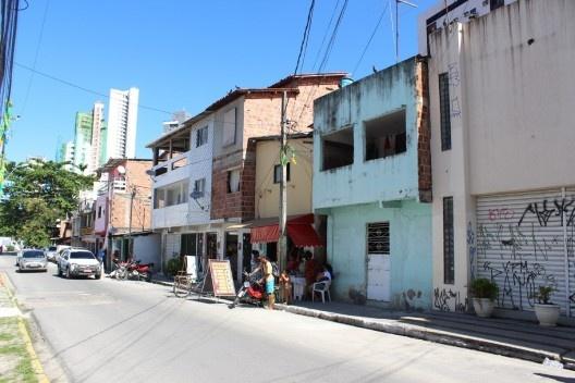A vitalidade da favela<br />Foto Roberto Ghione