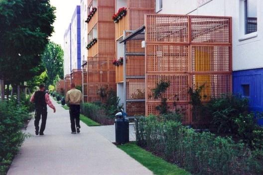 Requalificação do Bairro Amarelo, Berlim, Alemanha, 1997. Escritório Brasil Arquitetura + Pedro Moreira e Nina Nedelikov<br />Foto Nelson Kon
