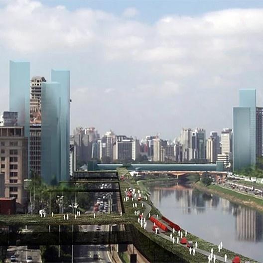 Secovi: cidade de São Paulo, contribuições para o desenvolvimento urbano sustentável, São Paulo SP, 2010. Escritório Jaime Lerner Arquitetos Associados<br />Imagem divulgação  [website oficial do arquiteto]