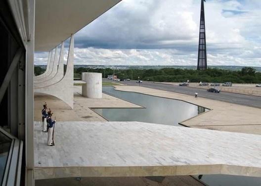 Palácio do Planalto, Brasília DF. Arquiteto Oscar Niemeyer<br />Foto Victor Hugo Mori