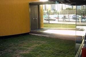 Figura 6 – Esquema da circulação vertical no auditório [João Filgueiras Lima, Lelé]