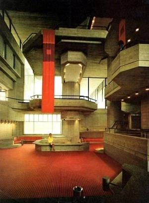 Espaços interiores (fotografia de 1960)