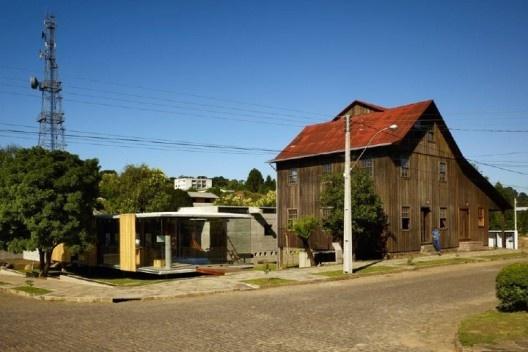 Museu do Pão, Ilópolis RS, 2007.  Escritório Brasil Arquitetura<br />Foto Nelson Kon