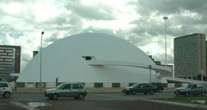 Oscar Niemeyer. Museu do novo Setor Cultural de Brasília<br />Foto da autora