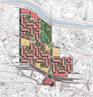 Estrutura urbana proposta
