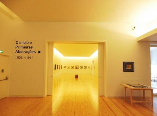 Museu de Arte Contemporânea Nadir Afonso, antecâmara (exposições temporárias), Chaves, Portugal, 2015. Arquiteto Álvaro Siza<br />Foto Adriano Tomitão Canas