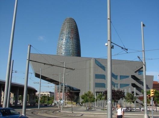 Edificio Disseny HUB. Plaza de las Glorias [Acervo Humberto González Ortiz]