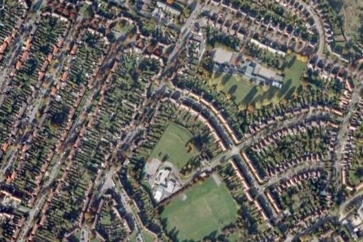 Letchworth, Grã-Bretanha [Google Earth, 2009]