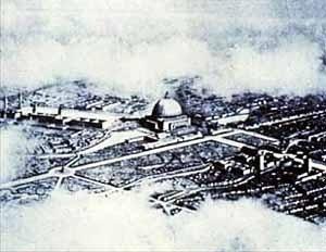 Plano de Berlim, Albert Speer. Gravação de Alexander Friedrich, 1941, Landesarchiv Berlin