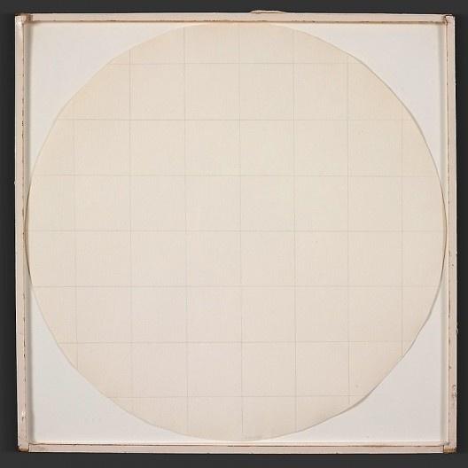 "Robert Ryman, ""Eagle Turquoise 7H #2"", 1966<br />Imagem divulgação  [Art Institute Chicago / Cortesia Pace Wildenstein]"