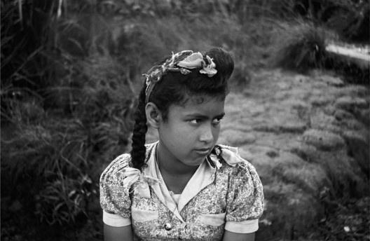 Retrato de menina, Campos do Jordão, SP, 1943<br />Foto Thomaz Farkas
