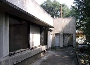 Vista do terraço posterior<br />Foto Marcos Carrilho