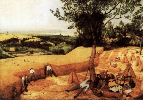 The Harvesters<br />Pieter Brueghel, o Velho  [Wikimedia Commons]