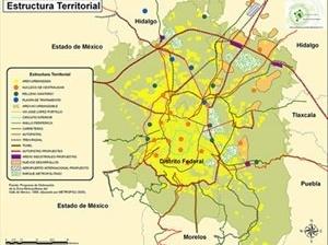 Estrutura Territorial da Cidade do Mexico
