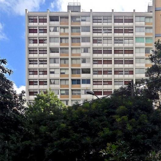 Edifício João Ramalho, São Paulo, 1954-56. Arquitetos Aflalo, Candia e Croce<br />Foto Luis Espallargas