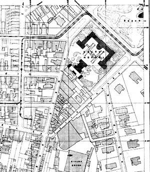 Área estudada, pormenor do Sara Brasil, 1930