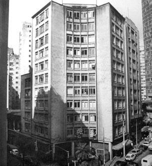 O edifício Jaçatuba construído