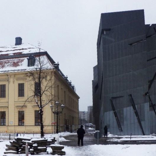 Museu Judaico, Berlim, 1999. Arquiteto Daniel Libeskind<br />Foto Fabiola Zonno