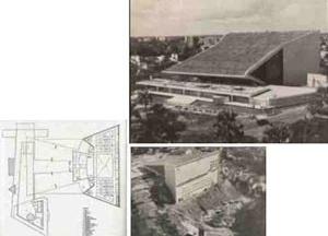 Figura 6: O novo projeto do teatro em construção [CONSTRUTORA NORBERTO ODEBRECHT S.A. Teatro Castro Alves. Salvador: Construtora Norberto Od]