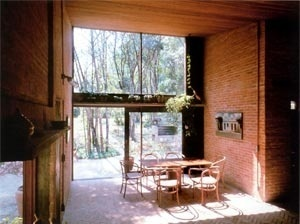 Res. Ana Mariani., Ibiúna, 1977, vista interna  [Acervo do Arquiteto]