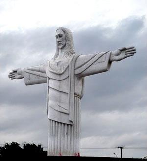 Cristo Redentor do Barreiro, Belo Horizonte. Bem tombado em nível municipal<br />Foto Andrea Zerbetto