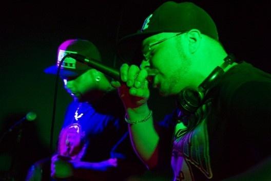 Batalha de MC's, edição Batalha do Conhecimento, 11 set. 2013<br />Foto divulgação  [Festival Contato / Wikimedia Commons]