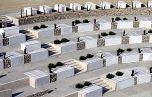 Cementerio de Armea en Sanremo, Italia, 2003. Aldo Amoretti y Marco Calvi<br />Foto Aldo Amoretti