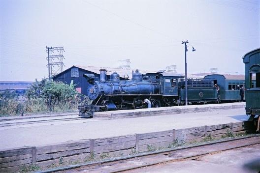Trem da Cantareira, ou Tramway da Cantareira, São Paulo<br />Foto divulgação, 1963