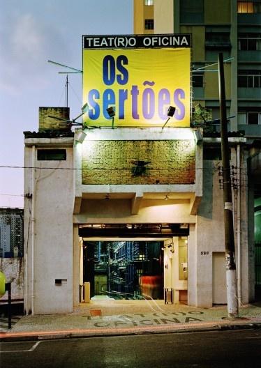 Teatro Oficina, São Paulo. Arquitetos Lina Bo Bardi e Edson Elito<br />Foto Nelson Kon
