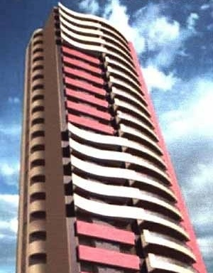 Edifício de apartamentos, TFG, Curso de Arquitetura da UFRN, 1999. Aluno Giuliano Caldas; Orientador Gil Peres