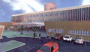 Residência universitária, TFG, Curso de Arquitetura da UFRN, 2001. Aluna Luciana Correia do Nascimento; Orientador Fernando Costa