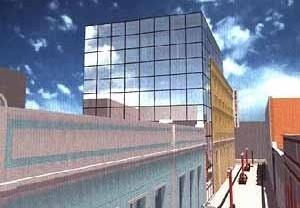 Cinema na Ribeira, TFG, Curso de Arquitetura da UFRN, 2001. Aluno José Edson da Silva; Orientadora Maísa Veloso