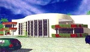 Restaurante Natif, TFG, Curso de Arquitetura da UFRN, 1999. Aluna Iracema Dalila de Azevedo; Orientadora Gleice Elali
