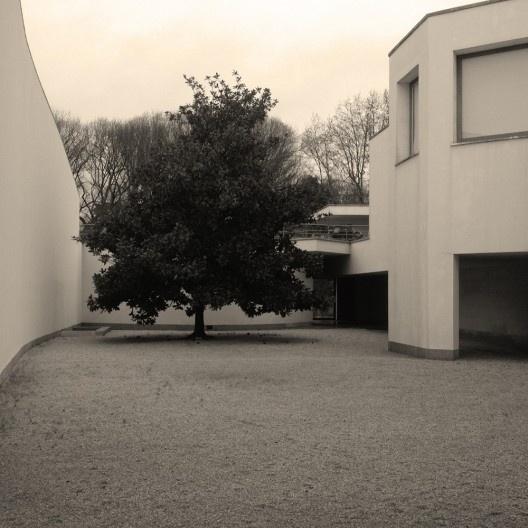 Pátio de distribuição, Museu de Serralves, Porto<br />Foto Ney Zillmer Neto