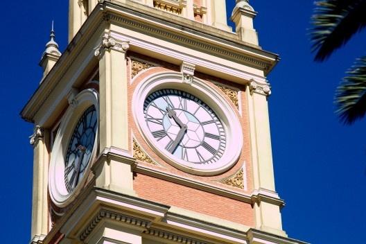Relógio da Estação da Luz<br />Foto Silvana Romano