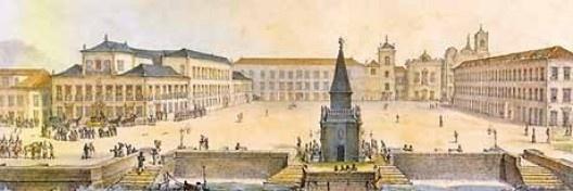 Largo do Carmo, Rio de Janeiro, século XIX