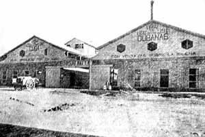 Fábrica de cemento Cuba, en la Habana. Primera fábrica de cemento portland en Iberoamerica