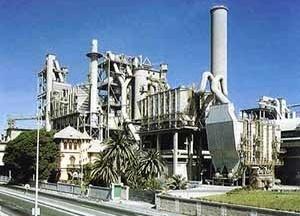 Fábrica de cemento en Málaga